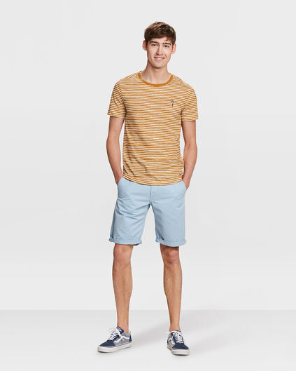 HERREN-REGULAR-FIT-SHORTS Bleu eclair