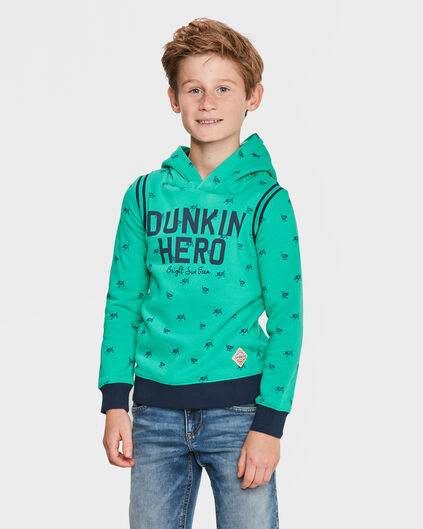 SWEATER HERO HOODED GARÇON Vert