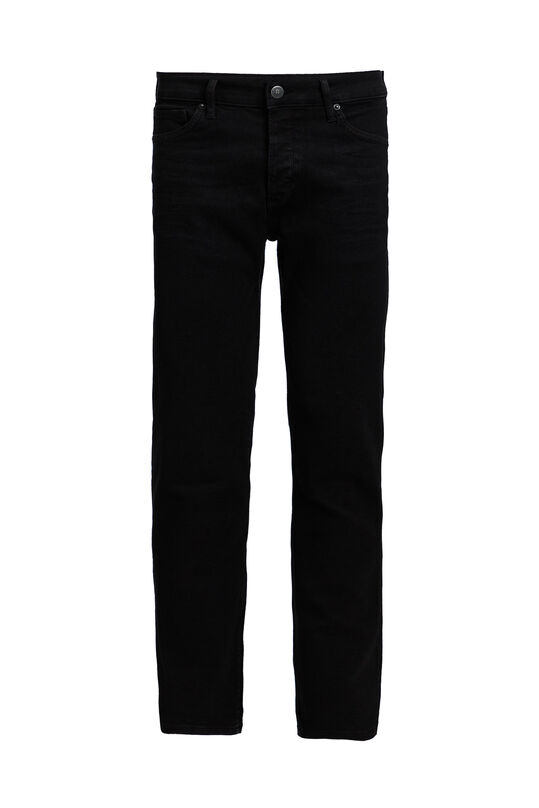 Jeans slim fit super stretch homme Noir