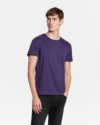 HEREN REGULAR FIT T-SHIRT Paars