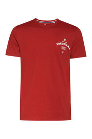 Heren Blue Ridge T-shirt_Heren Blue Ridge T-shirt, Donkerrood