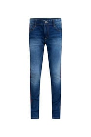 Jongens super skinny fit jog denim jeans_Jongens super skinny fit jog denim jeans, Blauw