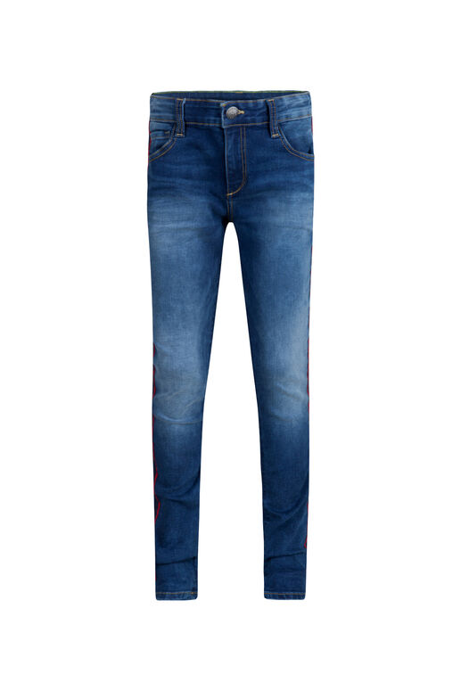 Jongens super skinny fit jog denim jeans Blauw