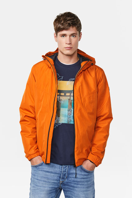 Veste coupe-vent homme Orange
