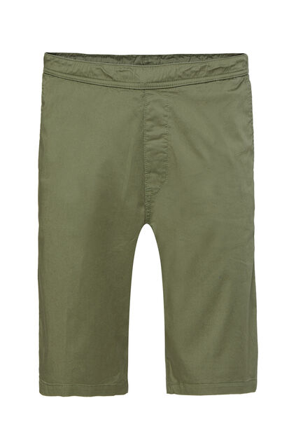 Short chino regular fit homme Vert armee