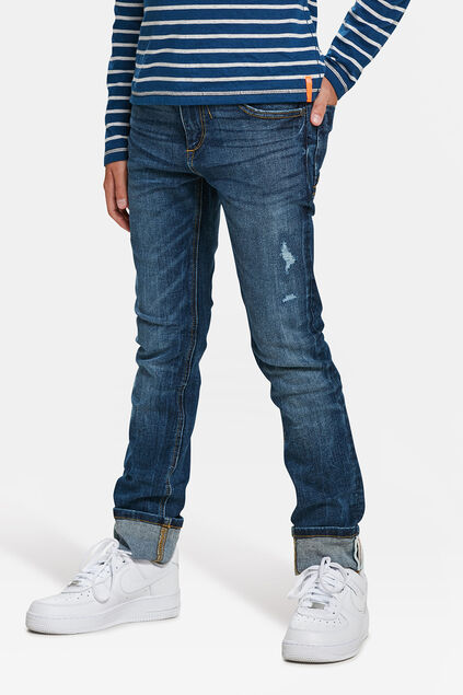 JEANS SKINNY FIT SUPERSTRETCH GARÇON Bleu