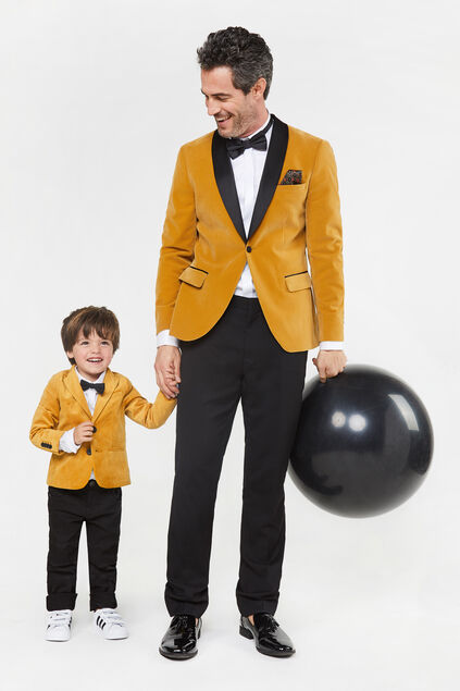Mini me: smoking blazer