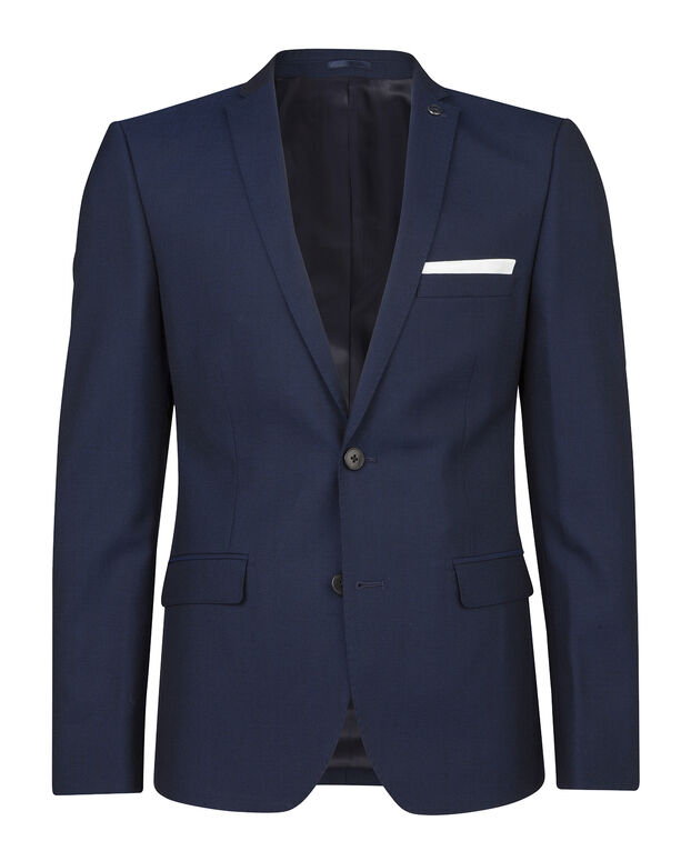 HEREN ULTRA SLIM FIT BLAZER MARSEILLE Donkerblauw