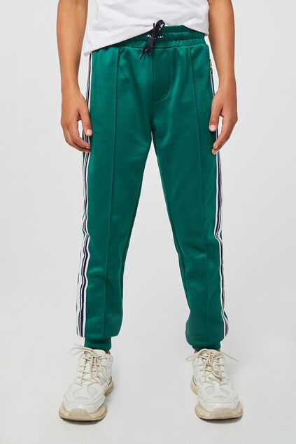 Jongens sporty sweatpants Groen