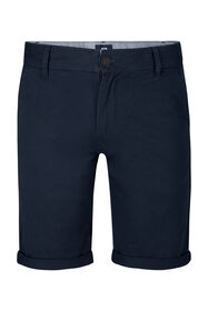 Heren regular fit chino short_Heren regular fit chino short, Marineblauw