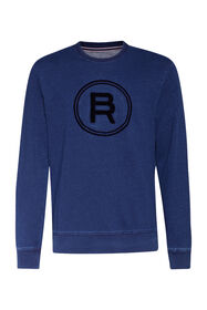Heren Blue Ridge sweater_Heren Blue Ridge sweater, Indigo