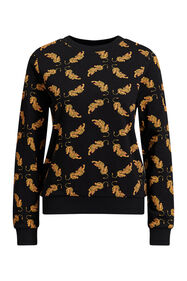 Dames sweater met tijgerdessin_Dames sweater met tijgerdessin, All-over print