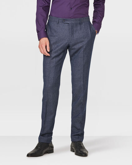 HEREN SLIM FIT PANTALON DUNDEE Donkerblauw