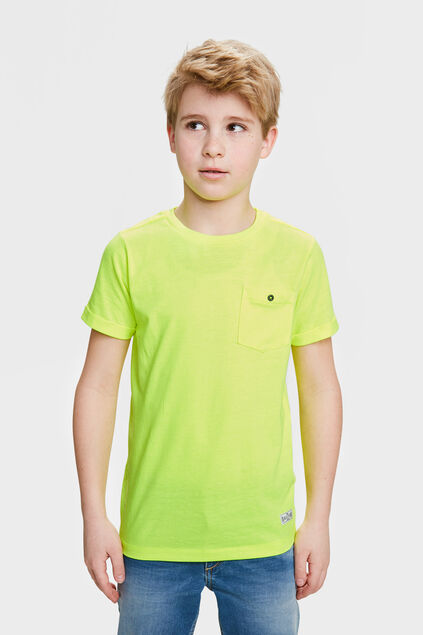 Jongens ONE POCKET T-SHIRT Felgeel