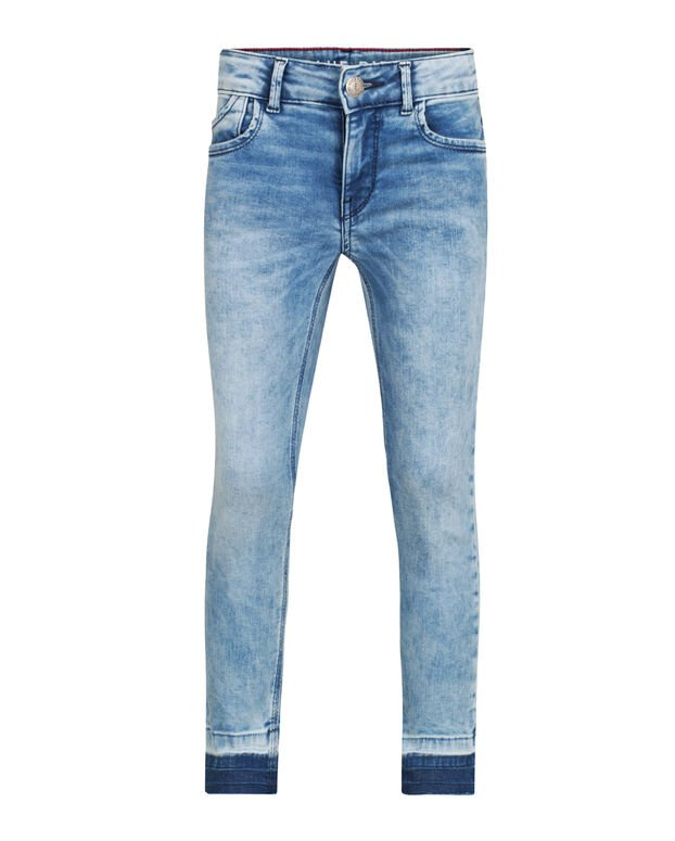 MEISJES SUPER SKINNY POWER STRETCH CROPPED JEANS Blauw