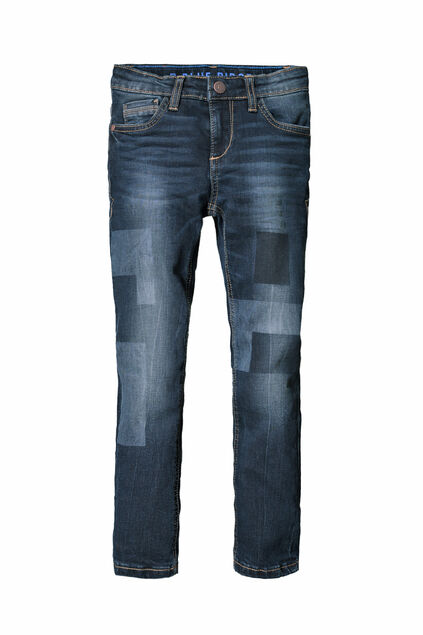 JONGENS SKINNY FIT SUPER STRETCH JEANS Donkerblauw