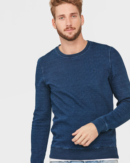 HEREN INDIGO DYED SWEATER Indigo