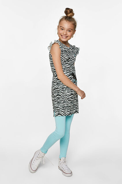 Legging skinny fit fille Turquoise