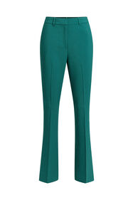 Dames flared pantalon_Dames flared pantalon, Groen
