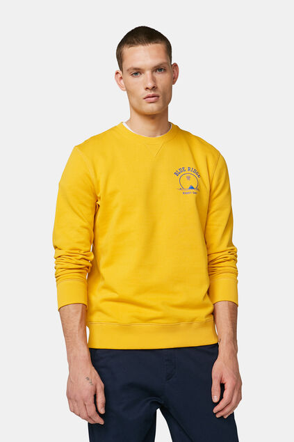 Sweat-shirt Blue Ridge homme Jaune