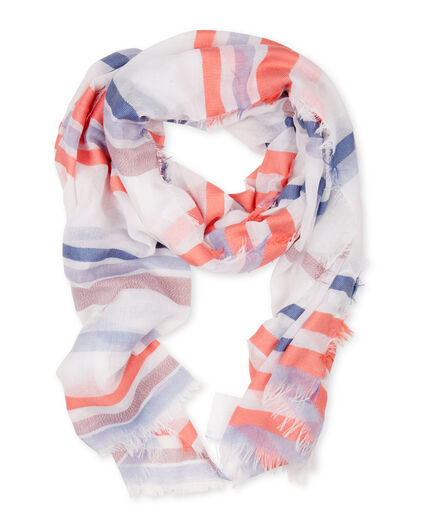 FOULARD COLOR STRIPE FEMME Multicolore