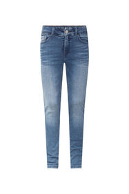 Jeans super skinny fit jog denim fille_Jeans super skinny fit jog denim fille, Bleu foncé