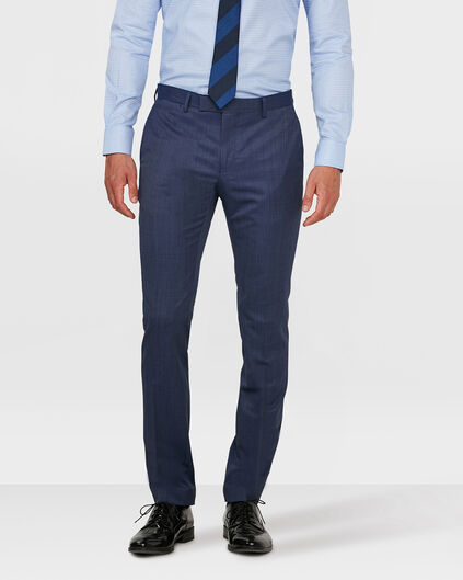 HEREN SLIM FIT PANTALON DUDLEY Felblauw