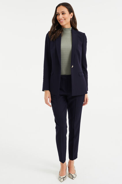Costume regular fit femme