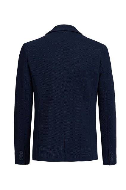 Jongens regular fit blazer Donkerblauw