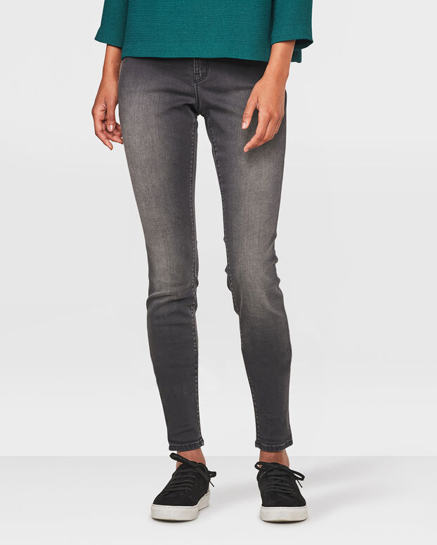 JEGGINGS MID RISE SUPER SKINNY HIGH STRETCH FEMME Noir