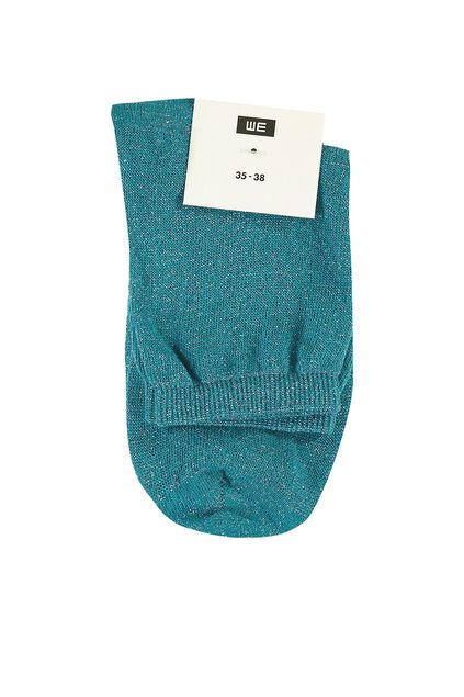 Chaussettes femme Turquoise