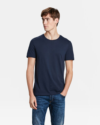 HEREN REGULAR FIT T-SHIRT Marineblauw