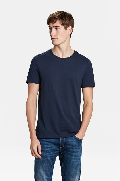 HEREN T-SHIRT Marineblauw
