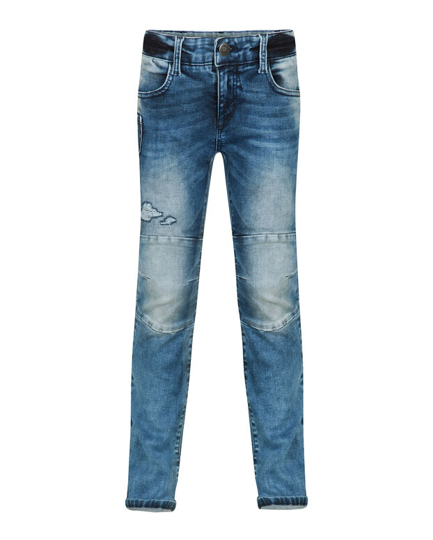JEANS SKINNY FIT POWER STRETCH GARÇON Bleu
