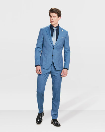 COSTUME SLIM FIT HACKNEY HOMME