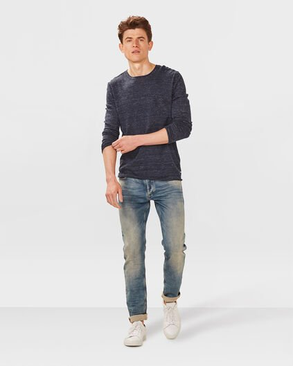 HEREN SKINNY TAPERED JOG DENIM Indigo