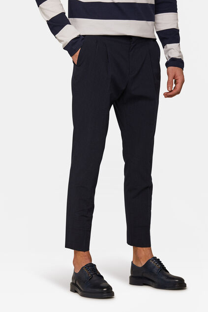 Pantalon Loose Fit Ichi homme Bleu