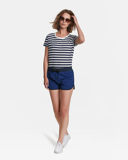 SHORT SWEAT REGULAR FIT FEMME Indigo