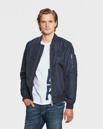 HEREN BLUE RIDGE BOMBER JACKET Donkerblauw