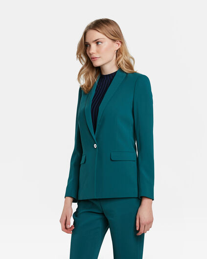 DAMES SLIM FIT BLAZER Groen