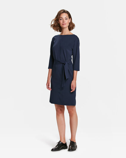 DAMES TWO WAYS TO WEAR JURK Marineblauw