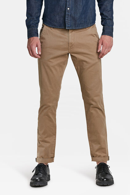 HEREN SLIM TAPERED CHINO Cognac