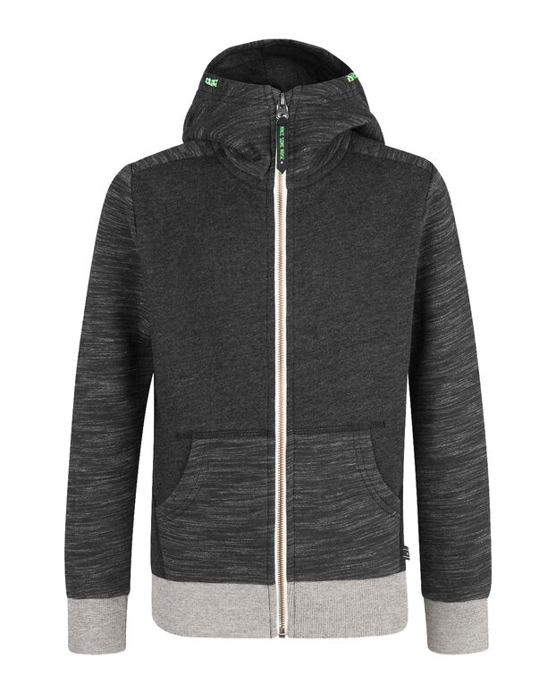 VESTE SWEAT HOODED GARÇON Noir