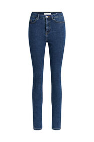 Dames high rise skinny jeans_Dames high rise skinny jeans, Blauw