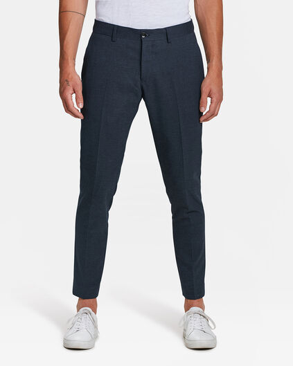 HEREN SLIM FIT PANTALON DEXTER Marineblauw