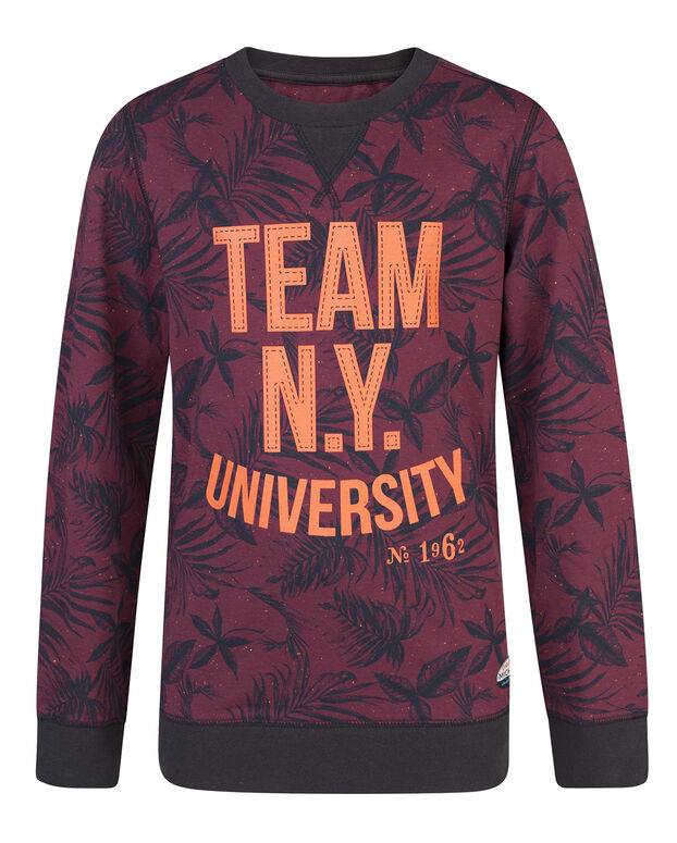 JONGENS TEAM N.Y. SHIRT Rood