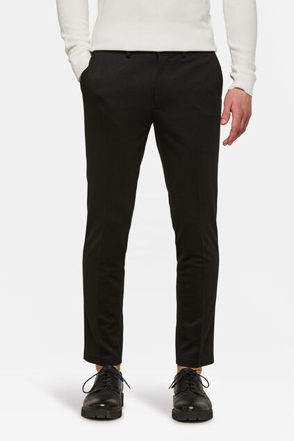 Pantalon slim fit homme Noir
