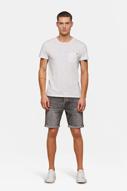 Heren regular fit short Grijs