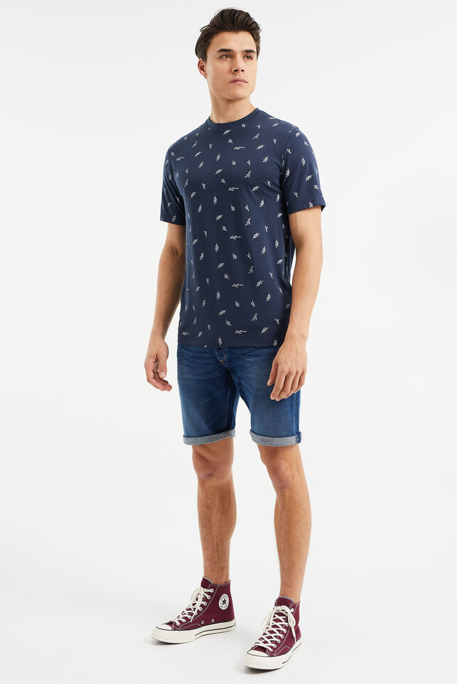 Short denim homme Bleu