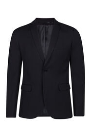Heren slim fit blazer Dali_Heren slim fit blazer Dali, Zwart